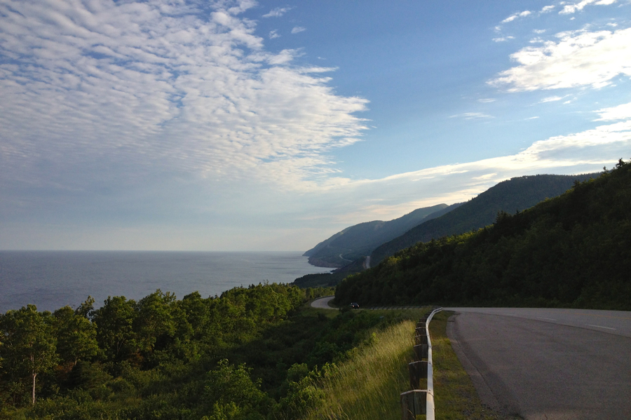 Cape Breton Highlands Road